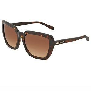Coach Sunglasses Dark Tortoise w/Brown Lens